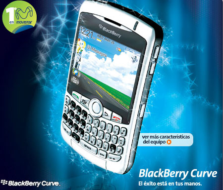 blackberry curve movistar Movistar lanza el Blackberry 8330 Curve