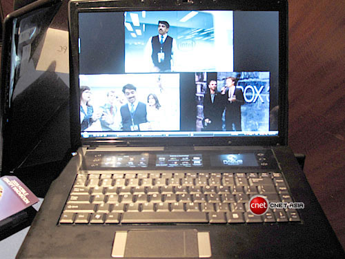 Intel presenta un concepto de netbook con 4 displays