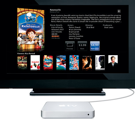 Apple TV se llamara iTV y no reproducir Full HD (1080p)