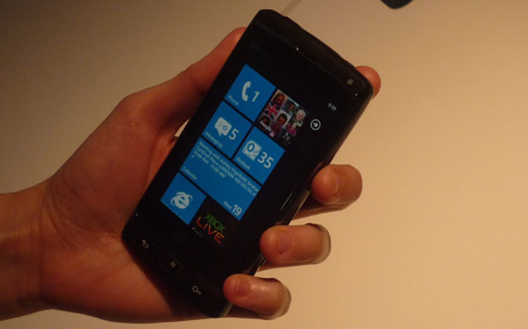 lg windows phone 7 Windows Phone 7 se lanzaría el 11 de octubre