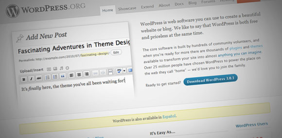 WordPress 3.0.3 está disponible para bajarse