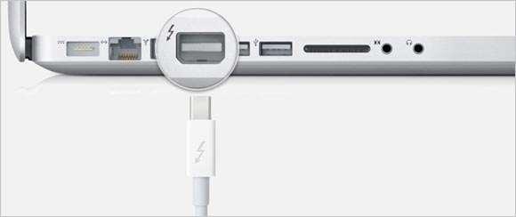 Apple cede la marca Thunderbolt a Intel