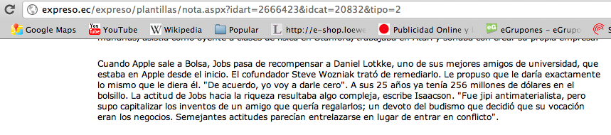 Daniel Kottke, un amigo olvidado de Steve Jobs y el error de El Pas.