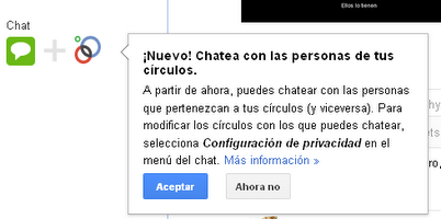 Google+ ya permite chatear con contactos de tus crculos