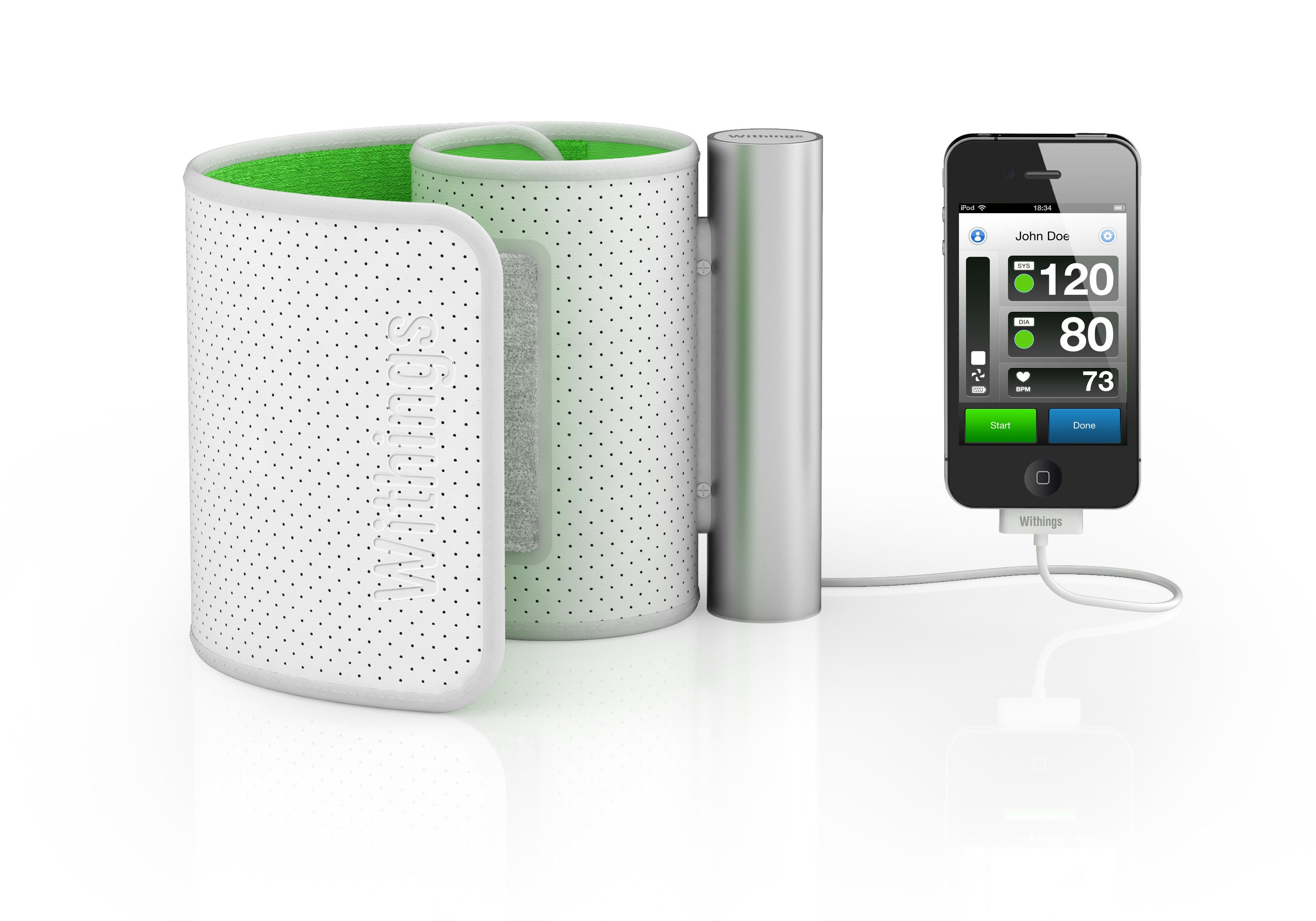 Withings presenta tensimetro para dispositivos iOS