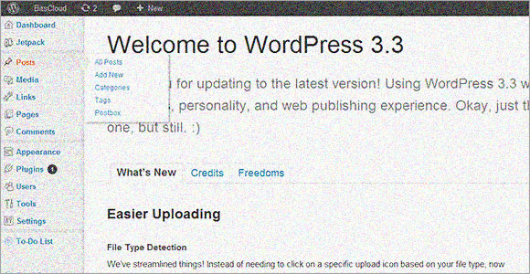 WordPress 3.3 presenta varias mejoras