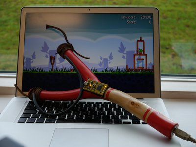 resorterausb Contruye tu resortera USB para jugar Angry Birds