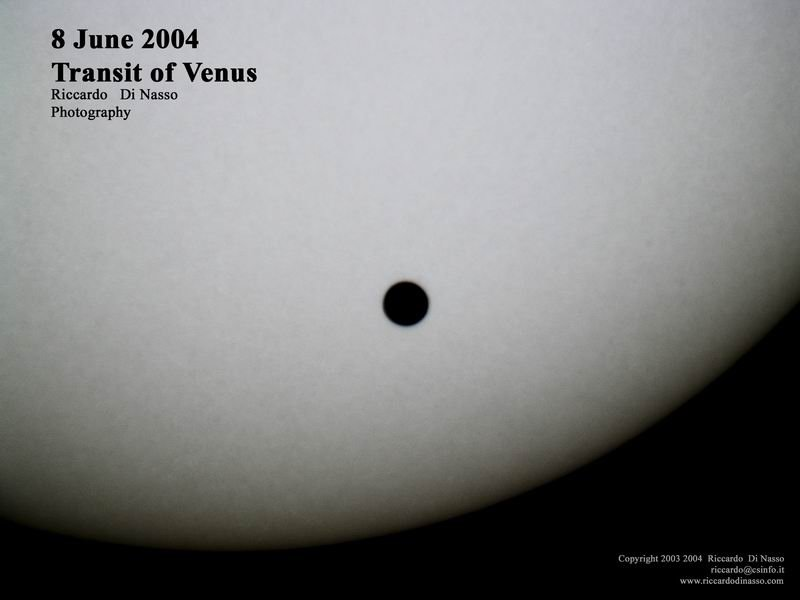 Venus pasar frente al Sol este 5 de junio