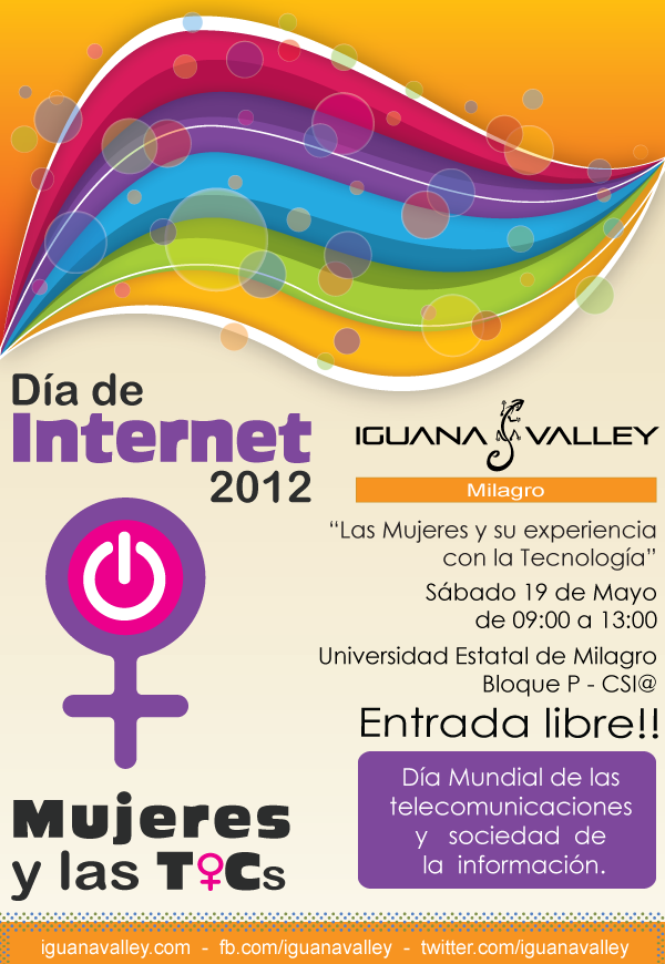 Iguana Valley Milagro participar en los festejos del Da de Internet