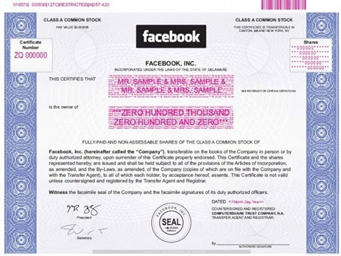 Cmo comprar acciones de Facebook