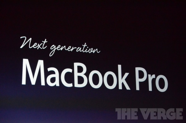 Apple presenta en WWDC: Siri en español, iOS6, MacBook Air, MacBook Pro